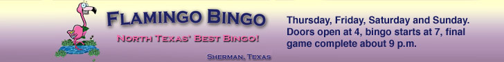 Flamingo Bingo - Leaderboard