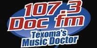 107.3 Doc FM logo
