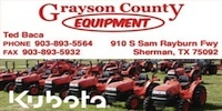 Grayson County Equipment logo