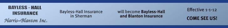 Bayless-Hall Insurance--leaderboard