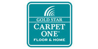 Gold Star Carpet One logo