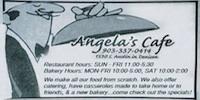 Angela's Cafe logo